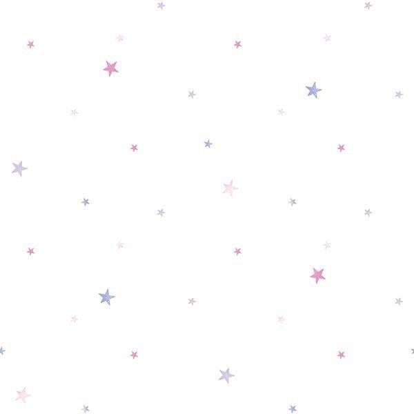 Tapeta w gwiazdki tiny tots g45141