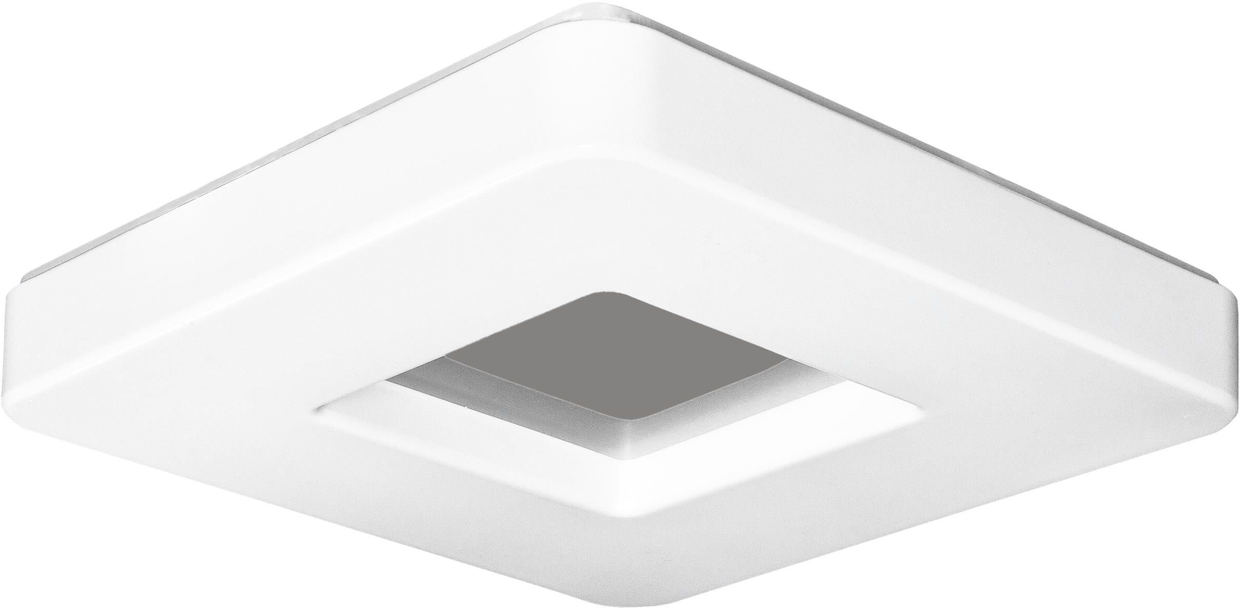 Lampex Albi 37 LED 421/37 plafon lampa sufitowa owalny kształt biały 20W LED 3000K /6000K 37cm