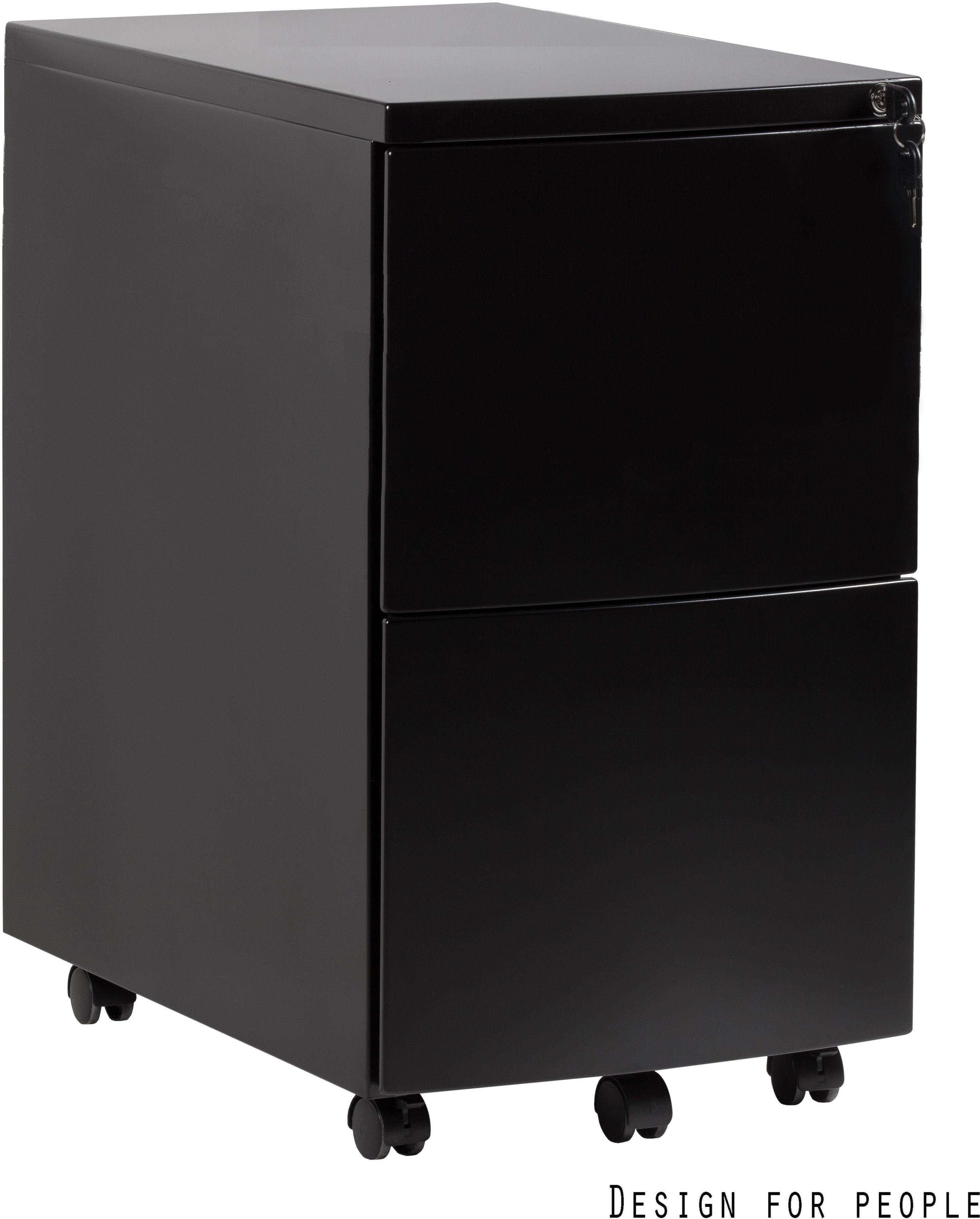 Kontener biurowy 39x56x69 cm RPH-02-B czarny