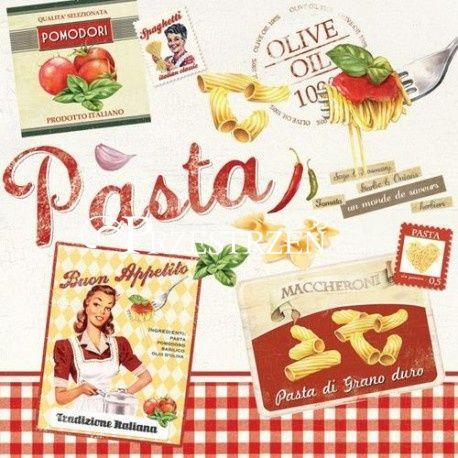 SERWETKI PAPIEROWE - Pasta - Vintage Aperitif