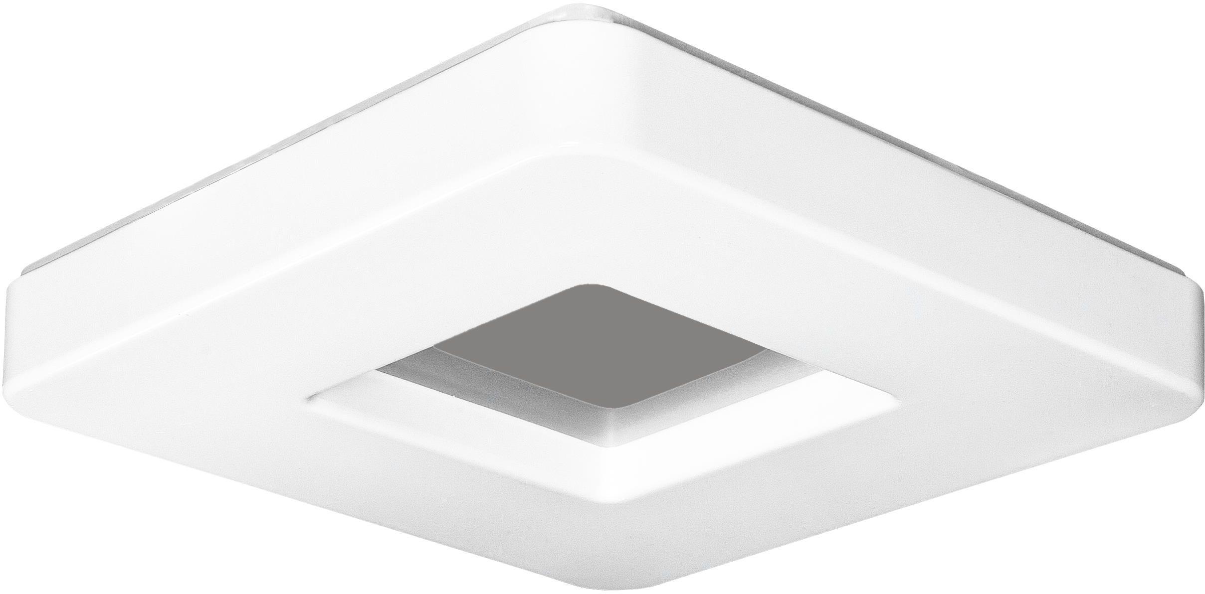 Lampex Albi 47 LED 421/47 plafon lampa sufitowa owalny kształt biały 24W LED 3000K /6000K 47cm