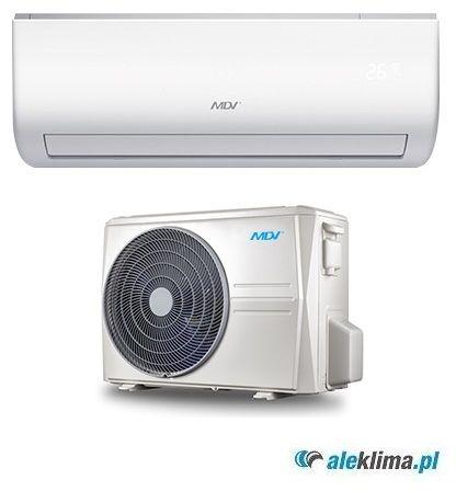 MDV Klimatyzator ścienny 7 kW MSAEDU-24HRFN1-QRD0GW MDV All Easy (komplet)