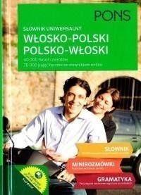 Słownik uniwersalny włosko-polski / pol-wł TW PONS - praca zbiorowa