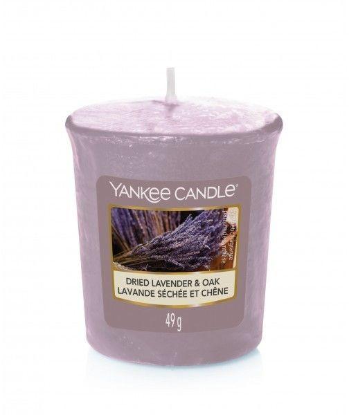 Yankee Candle Dried Lavender & Oak świeczka zapachowa 49 g
