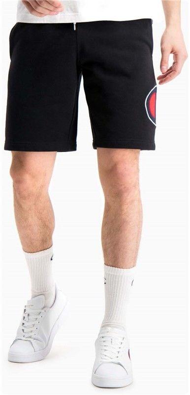 szorty CHAMPION - Oversized Satin & Twill C Logo Shorts (KK001)