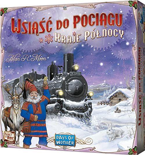 Gra planszowa Wsiąść do Pociągu: Kraje Północy
