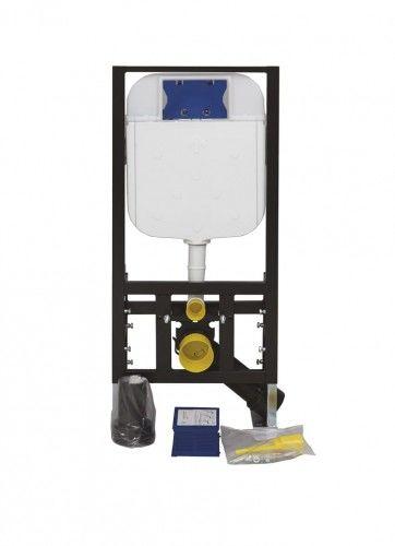 Stelaż podtynkowy, Regulacja 180-230 mm, 3/6L, 300kg