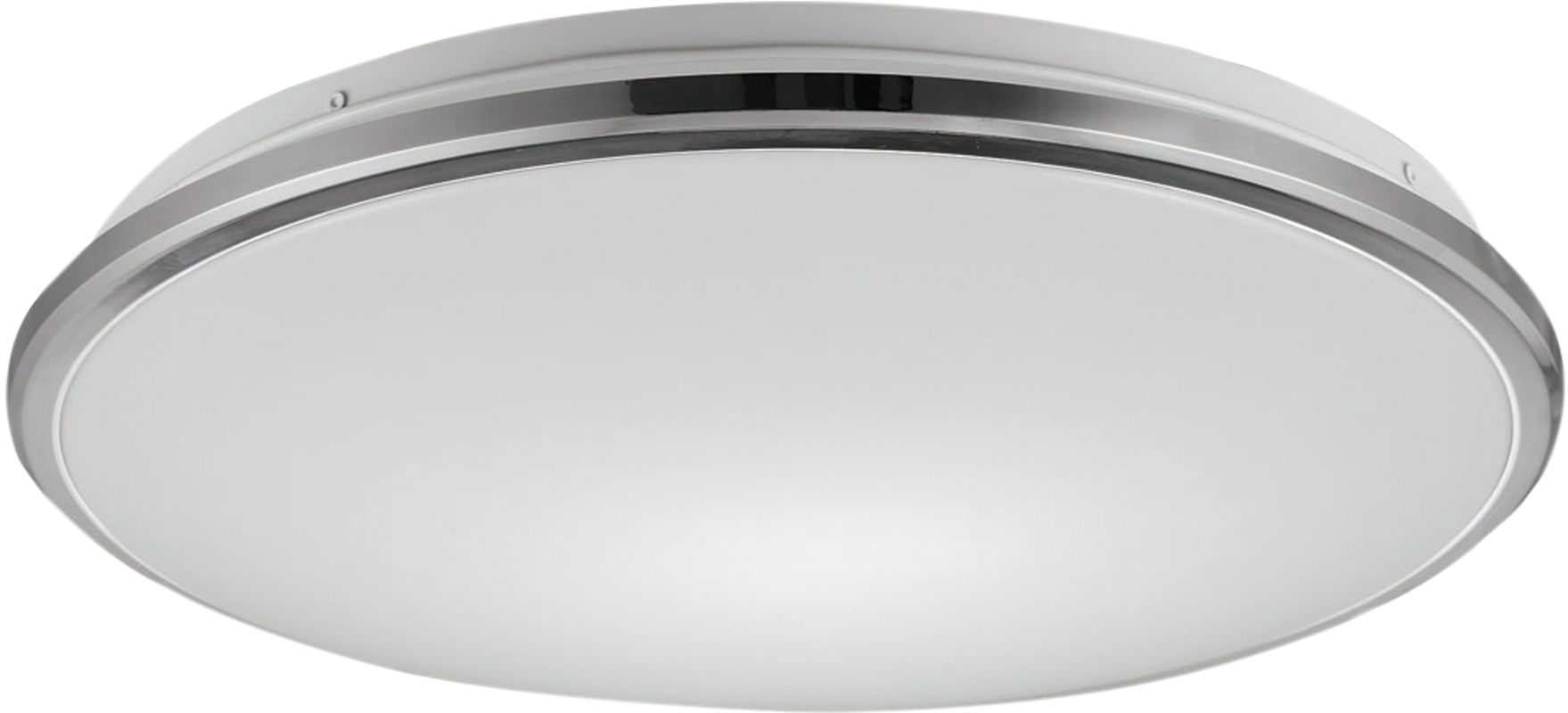 Zuma Line 12080022 BELLIS plafon lampa sufitowa srebrny LED 24W 4000K 38cm