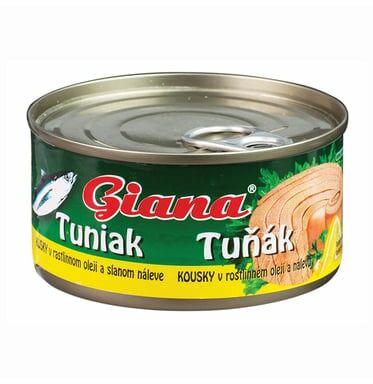 GIANA Tuńczyk w oleju roślinnym 185 g