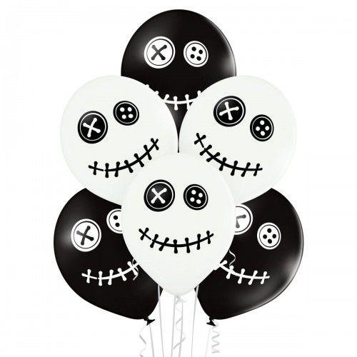 "Balony Laleczki VooDoo na Halloween 12"", 6 szt."