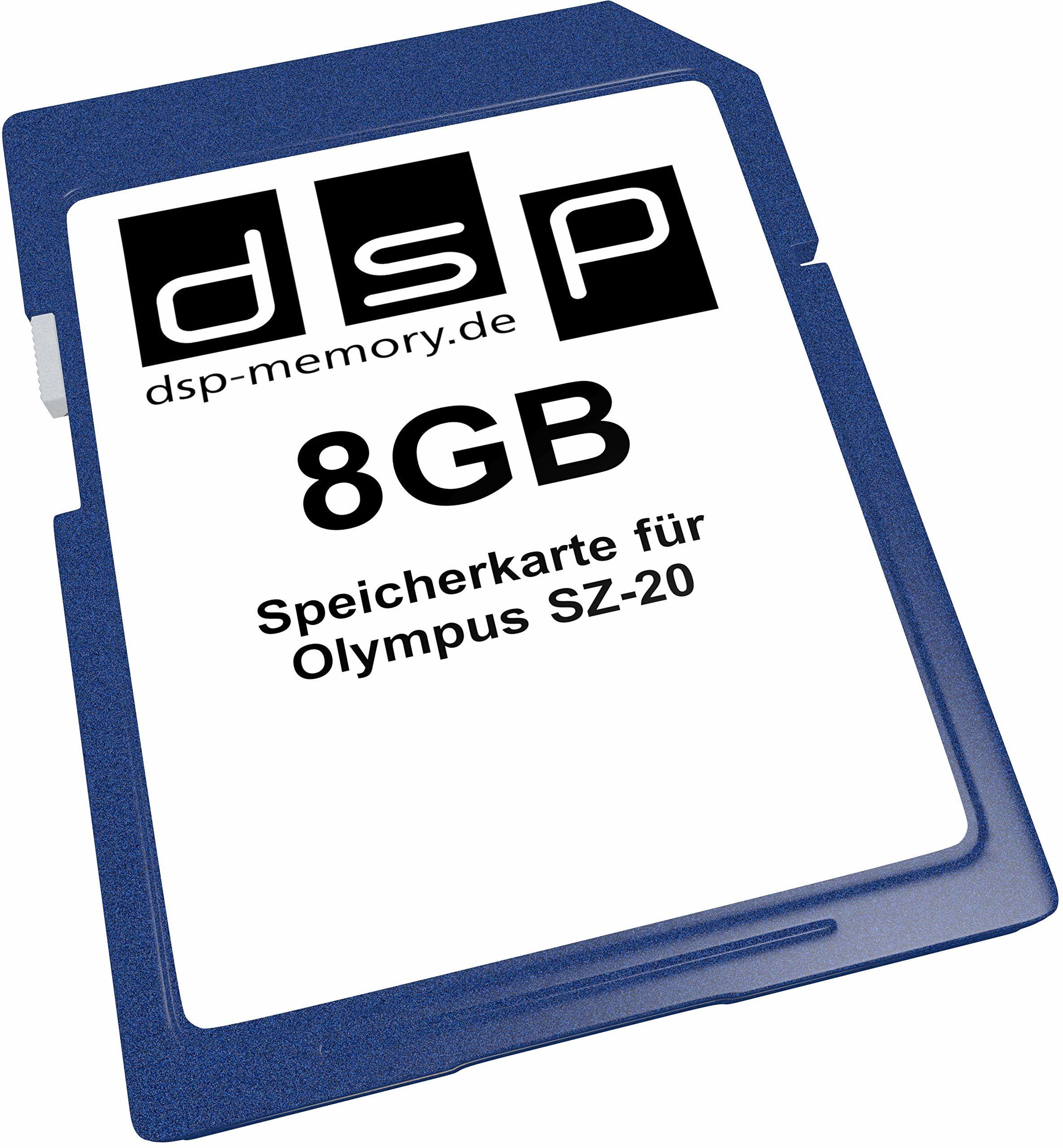 Karta pamięci 8 GB do Olympus SZ-20