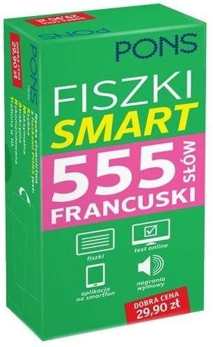 Fiszki Smart 555 słów. Francuski ZAKŁADKA DO KSIĄŻEK GRATIS DO KAŻDEGO ZAMÓWIENIA