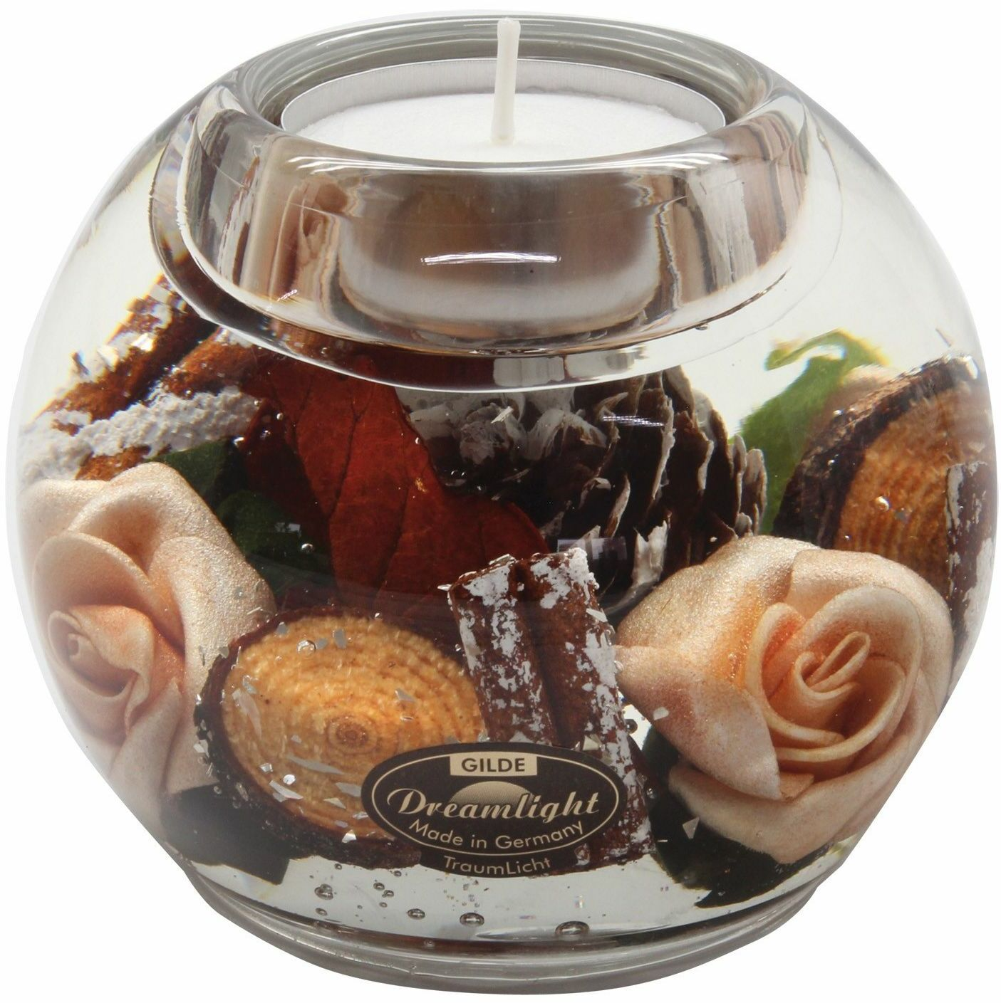 Dreamlight, świecznik na t-light Mercur Canadian Rose