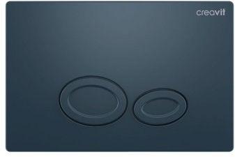 Przycisk spłukujący 24,7x16,3x1 cm , Szary Mat Creavit