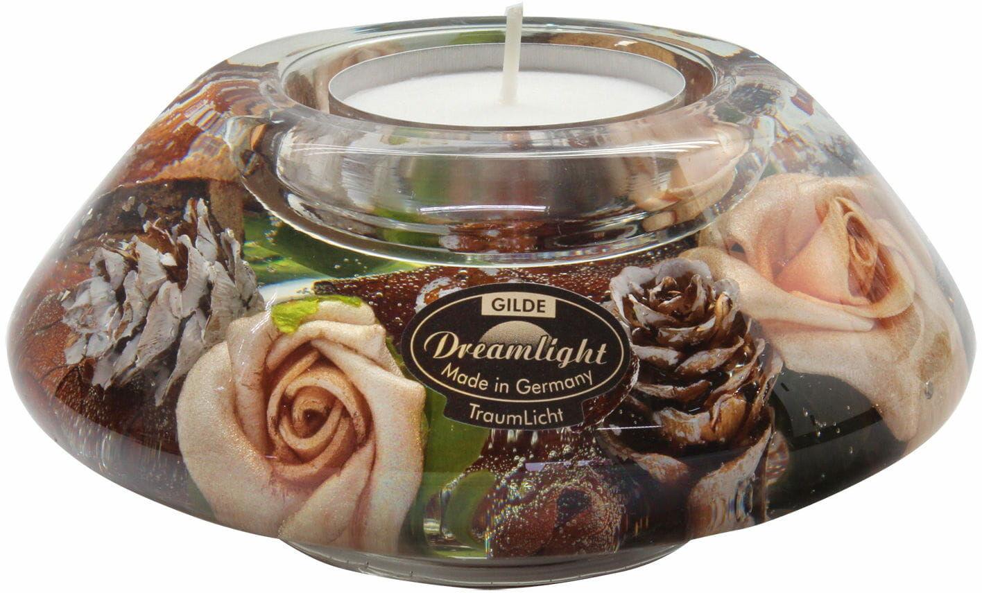 Dreamlight, świecznik na t-light Crown Classic Canadian Rose