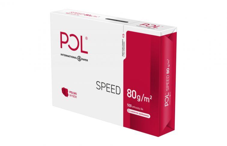 Papier uniwersalny POLspeed - A4, 80g/m2, 500 arkuszy (XA4POLSPEED)