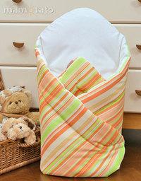 MAMO-TATO Rożek niemowlęcy usztywniony Paseczki marchewkowe