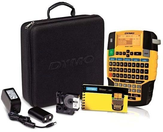 Drukarka Dymo Rhino 4200 walizka + 5x 18443 5x 45013 KUP z zamiennikami i oszczędzaj! - ZADZWOŃ 730 811 399