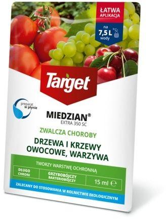 Miedzian extra 350 sc  zwalcza choroby roślin  15 ml target