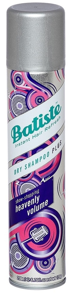 BATISTE PLUS HEAVENLY VOLUME Suchy szampon 200ML