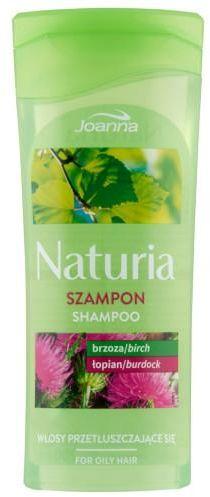 Joanna Naturia szampon z brzozą i łopianem do włosów przetłuszczających się 200 ml