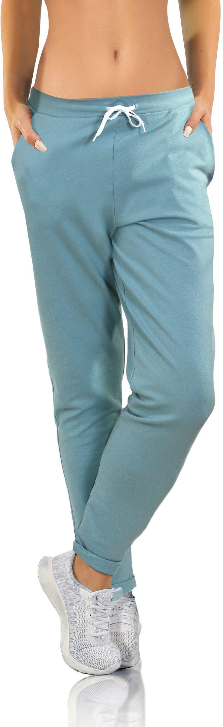 Spodnie sportowe z kieszeniami MONO Sesto Senso