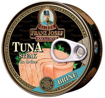 Franz Josef Kaiser Stek z tuńczyka we własnym sosie 170 g