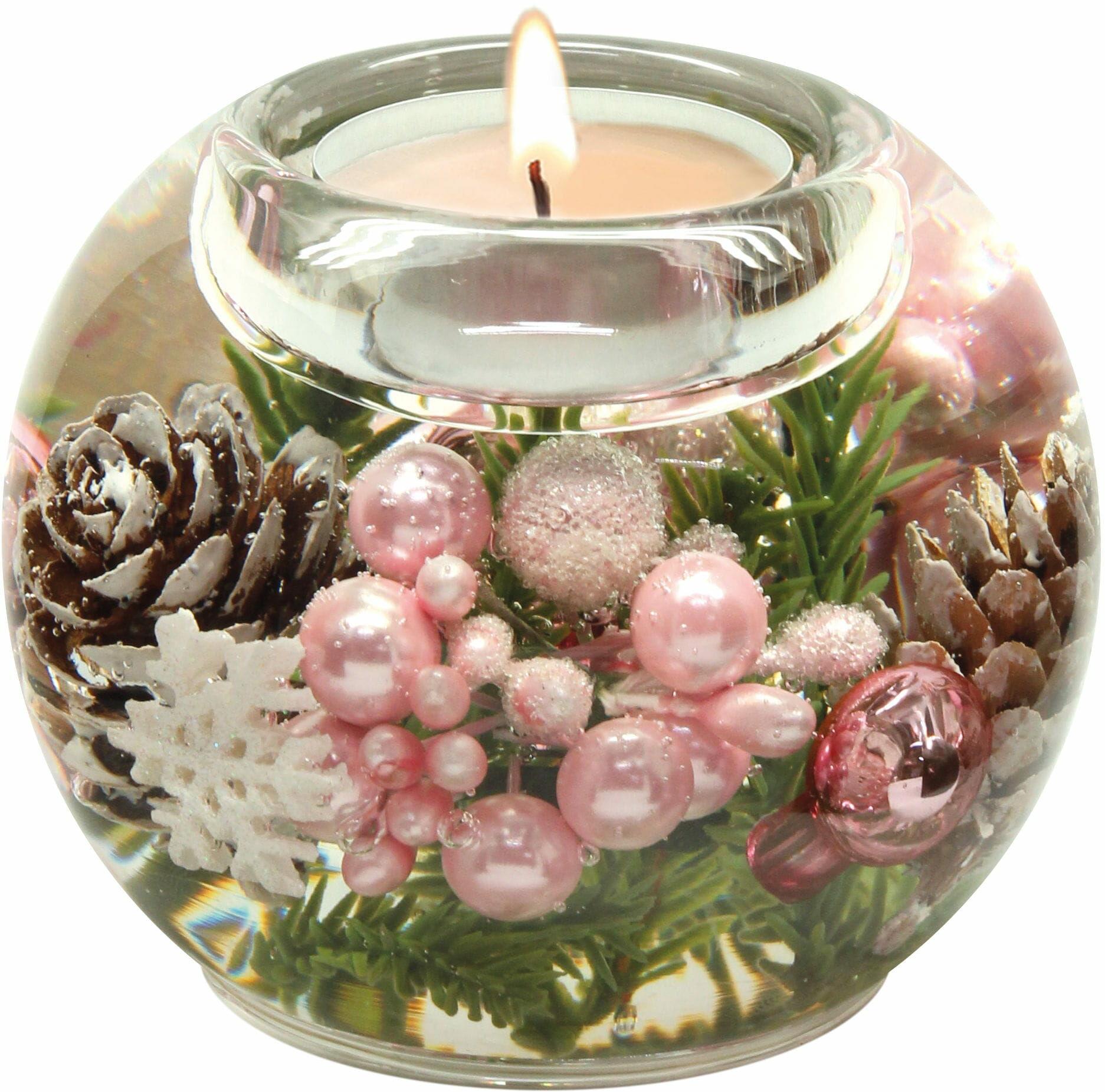 Dreamlight, świecznik na t-light Mercur Frozen Nature