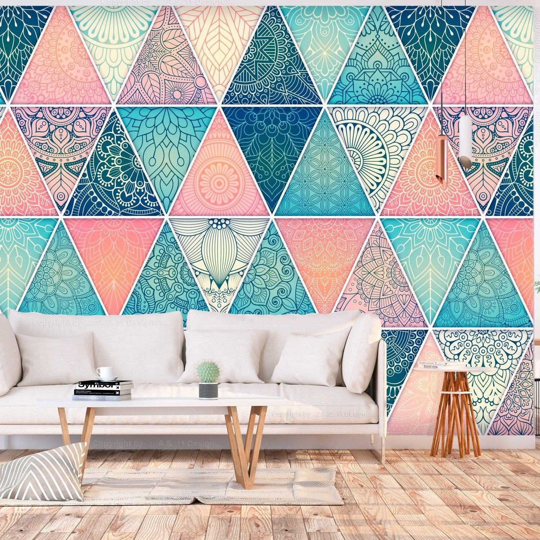 Fototapeta - orientalne trójkąty
