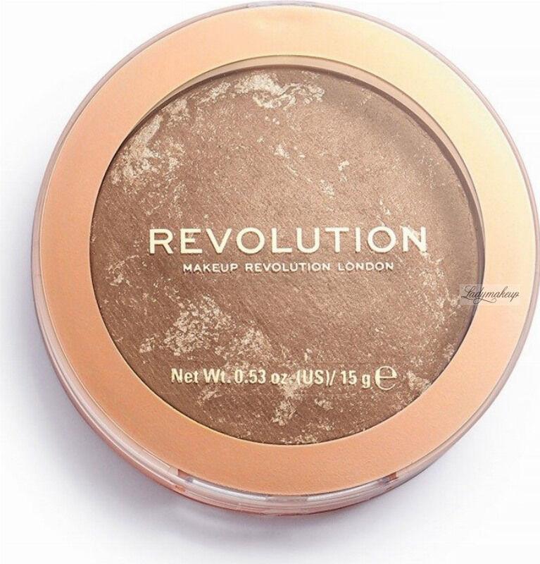 MAKEUP REVOLUTION - BRONZER RELOADED - Wypiekany bronzer do twarzy - TAKE A VACATION