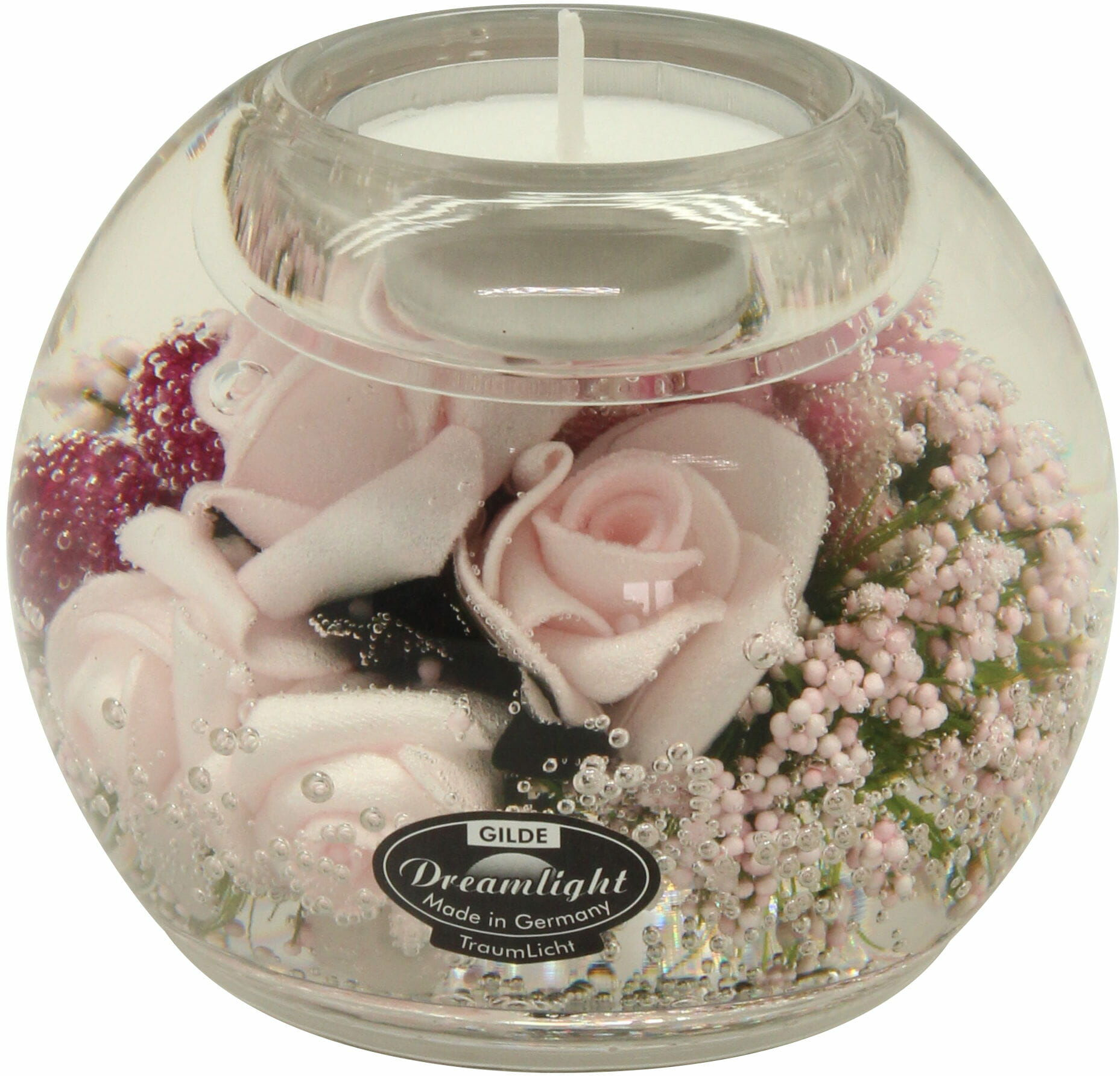 Dreamlight, świecznik na t-light Mercur Little Rose