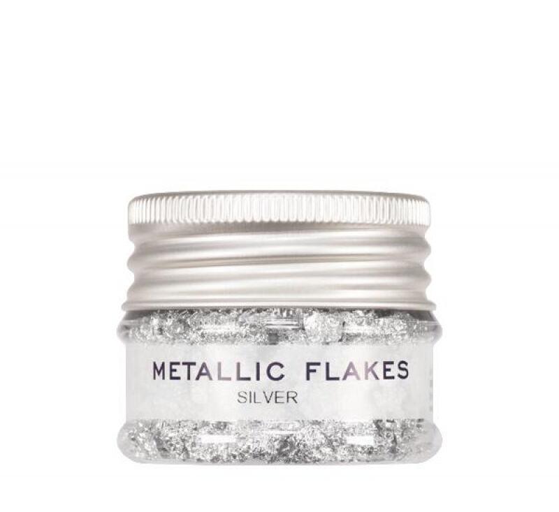 KRYOLAN - METALLIC FLAKES - Metaliczna folia w płatkach - ART. 03075/00 - SILVER