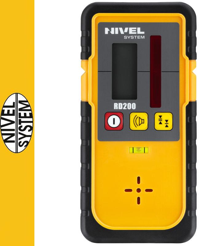 Detektor do laserów rotacyjnych/obrotowych RD200 Nivel System