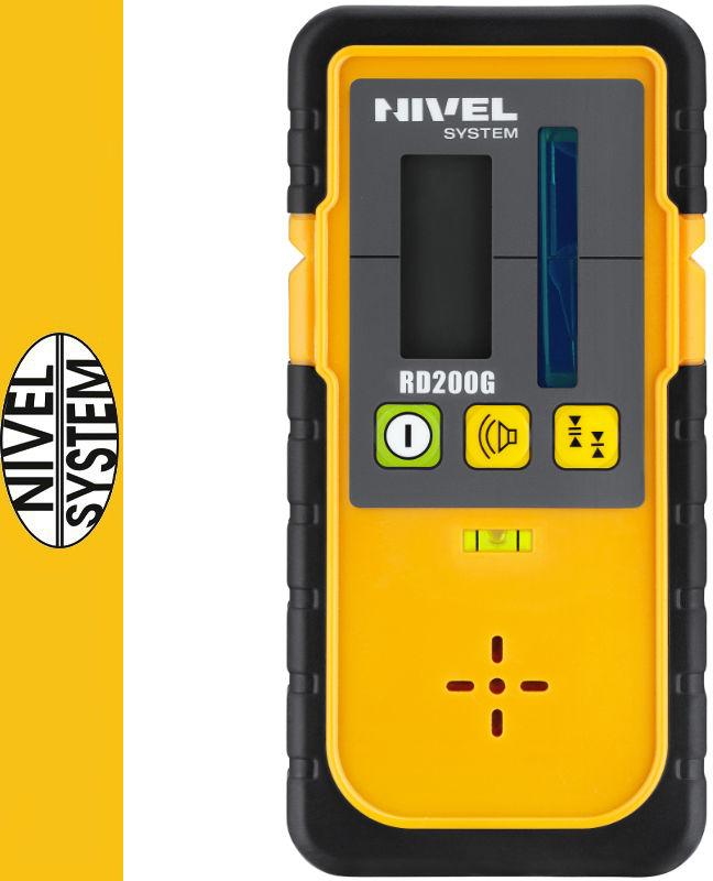 Detektor do laserów rotacyjnych/obrotowych RD200G Nivel System
