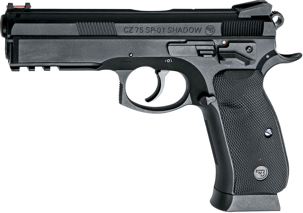 Pistolet wiatrówka CZ 75 P-01 Shadow 4,5 mm