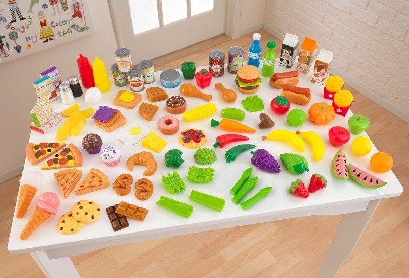 Zestaw 115el. produktów Szefa Kuchni, 63330-Kidkraft, zabawki dla dzieci kuchnia