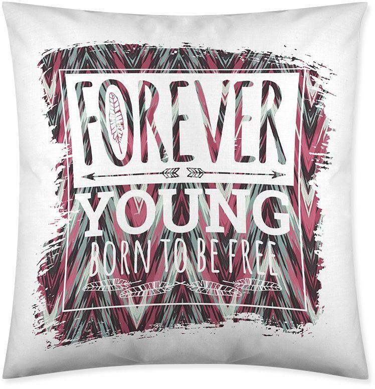 Poszewka Forever Young 45x45cm