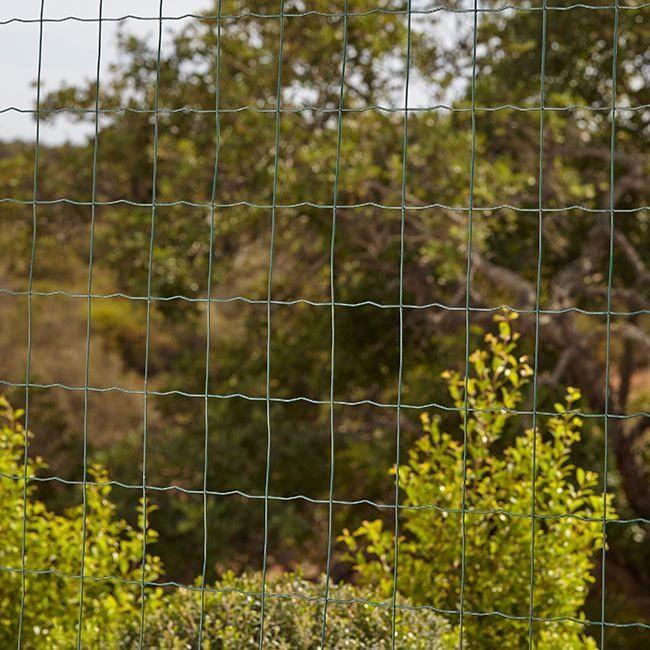 Siatka ogrodzeniowa pleciona Blooma 1 x 20 m oczko 50 x 50 mm zielona