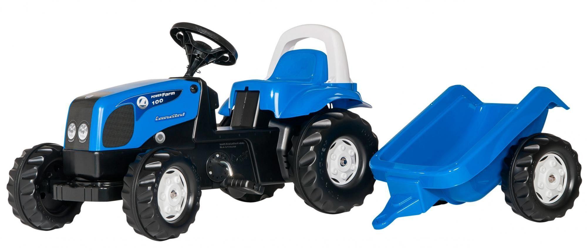 Rolly Toys Traktor Kid Landini z przyczepką