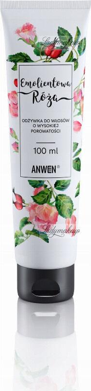 ANWEN - Emolientowa Róża - Odżywka do włosów o wysokiej porowatości - 100 ml