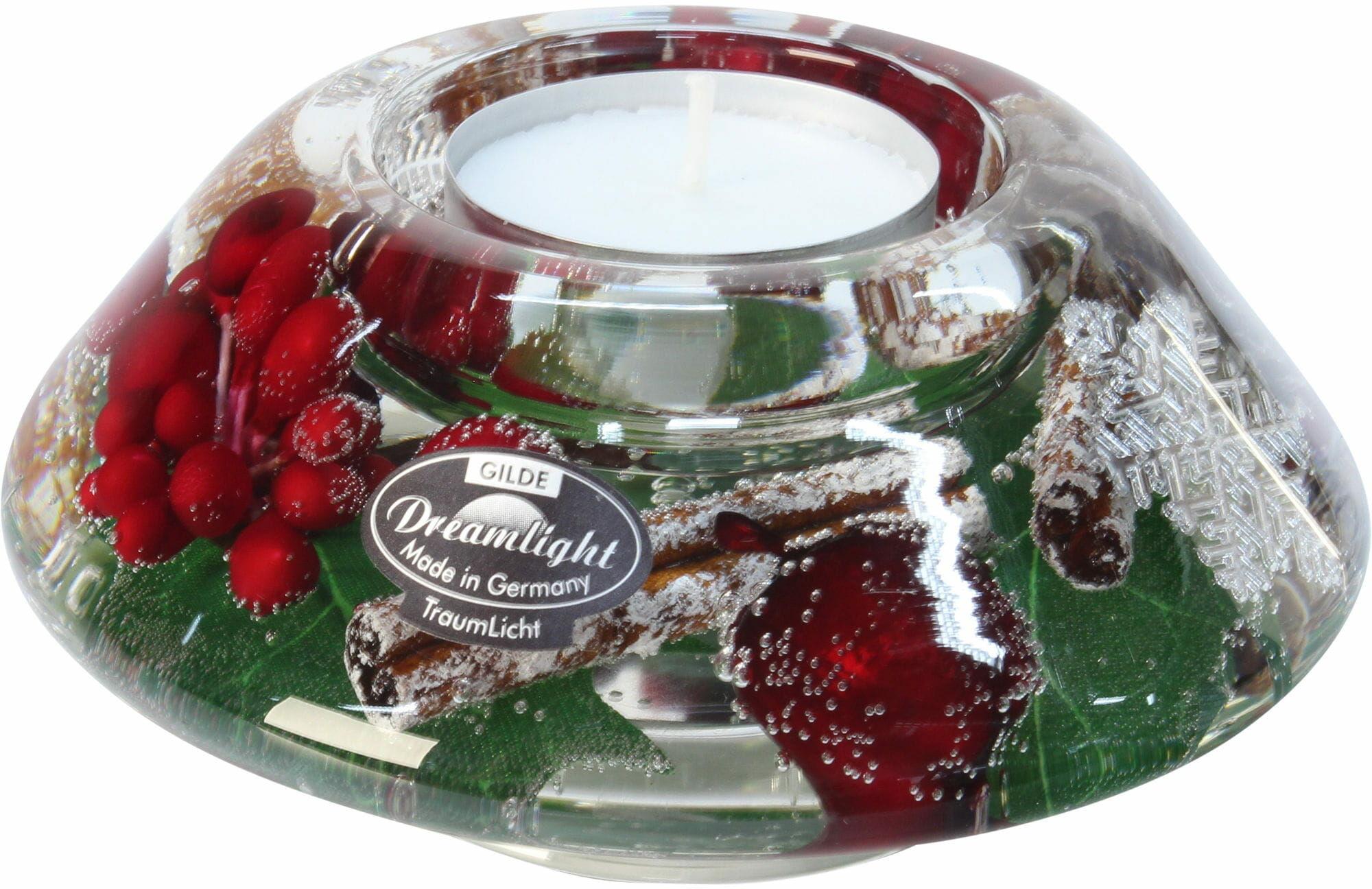 Dreamlight, świecznik na t-light Crown Classic Noel