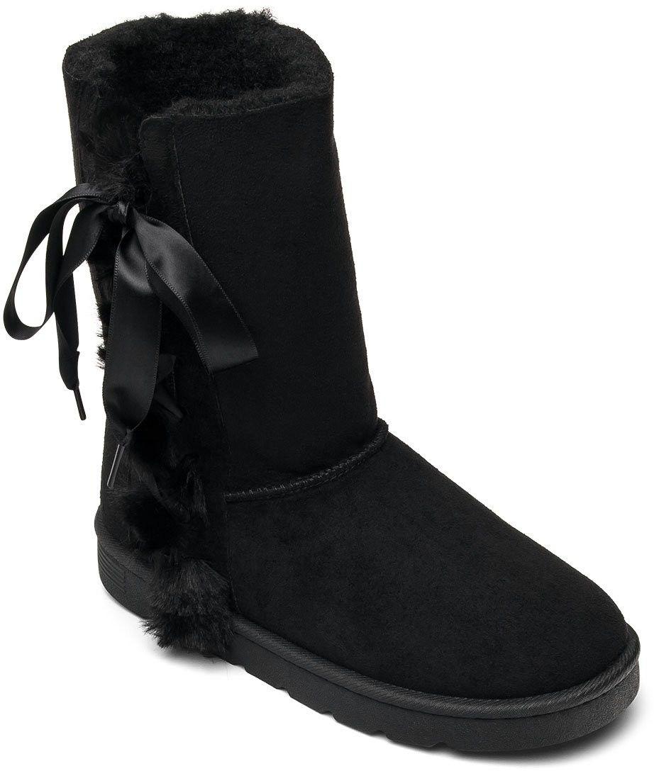 Śniegowce damskie N/M ZF-18 Czarne