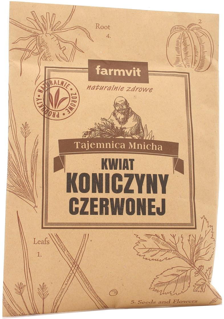 Kwiat koniczyny czerwonej - Farmvit - 25g
