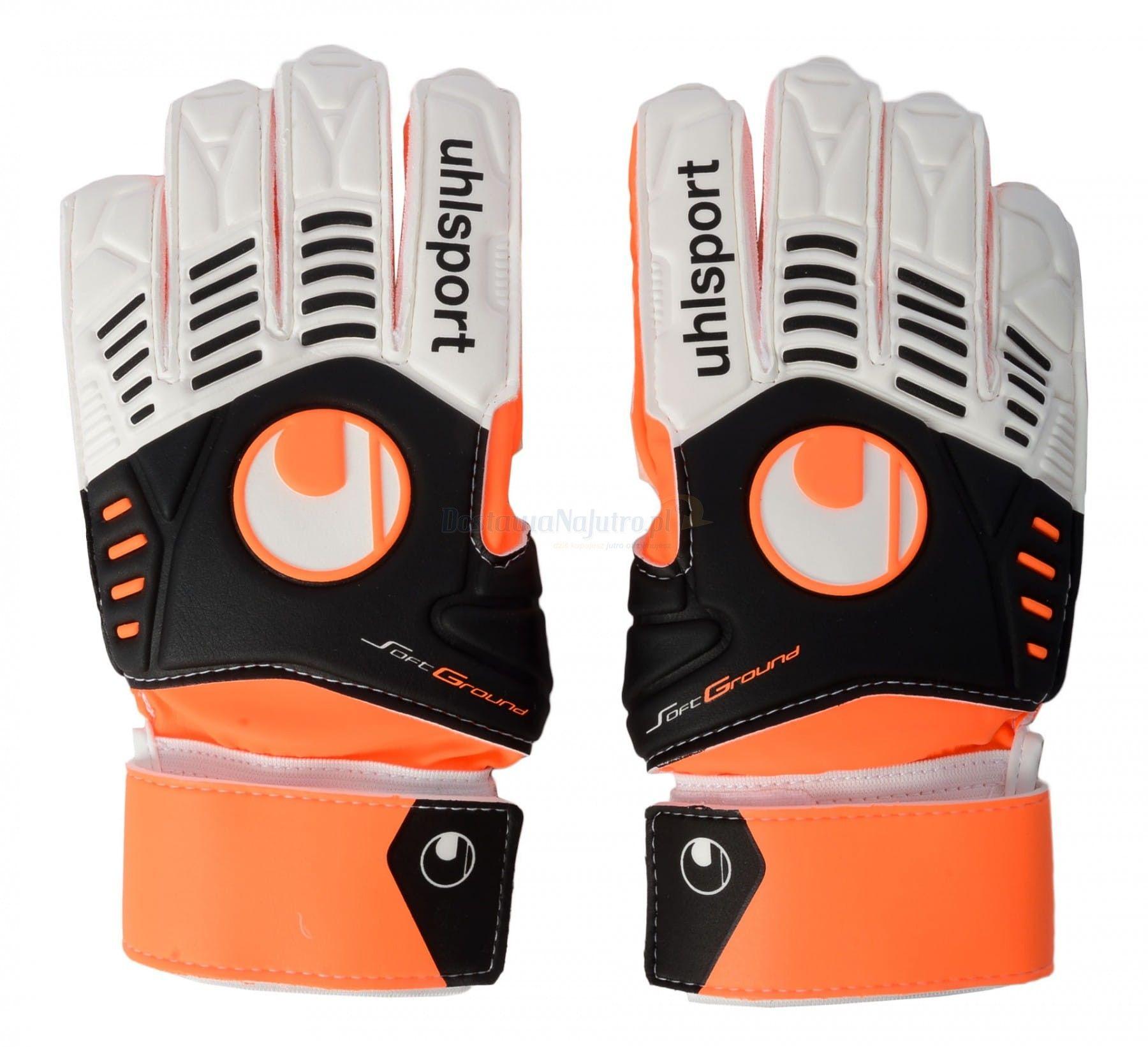 Rękawice bramkarskie Uhlsport Ergonomic Soft Training