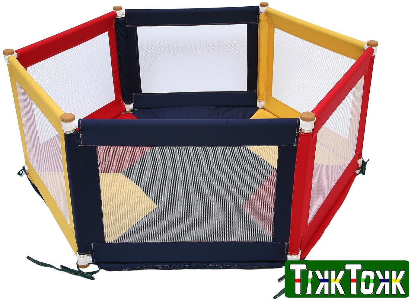 TikkTokk - Kojec Pokano trójkolorowy hex