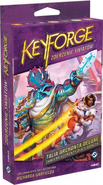 KeyForge: Zderzenie Światów - Talia deluxe REBEL ZAKŁADKA DO KSIĄŻEK GRATIS DO KAŻDEGO ZAMÓWIENIA