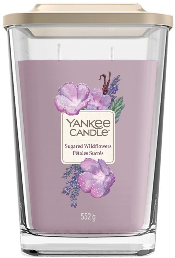 Świeca zapachowa Yankee Candle seria Elevation DUŻA - Sugared Wildflowers