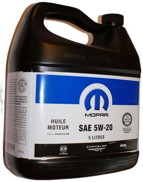 Olej 5W20 5 ltr