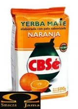 Yerba Mate CBSe Naranja pomarańczowa 0,5kg