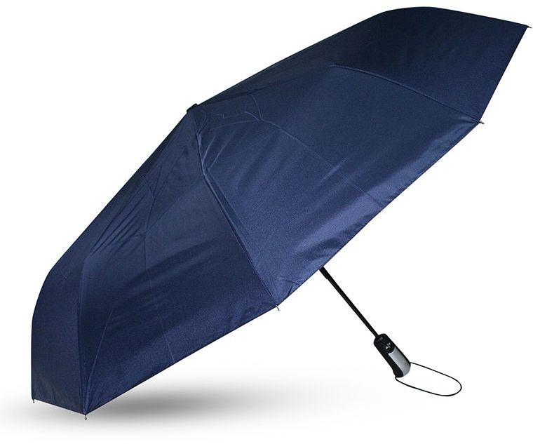 Parasol Składany, Granatowa Parasolka Automatyczna, z Pokrowcem -Pako Jeans- Męska PRSLPJNS7granat